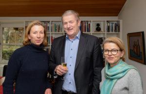 von links: Stefanie Knecht, Dr. Wolfgang Weng, Viola Noack
