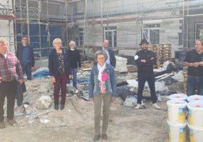 Foto, von links: Wolf-Dieter Karle, Jochen Eisele, Erika Schellmann, Dr. Horst Ludewig, Viola Noack, Volker Godel, Ender Engin, Michael Brenner