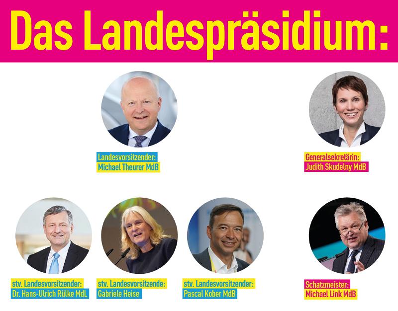 Präsidium der FDP Baden-Württemberg